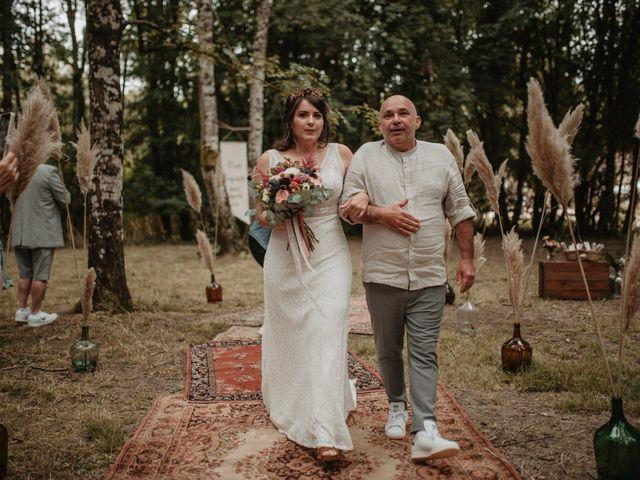 Le mariage de Romain et Amandine à Choué, Loir-et-Cher 41