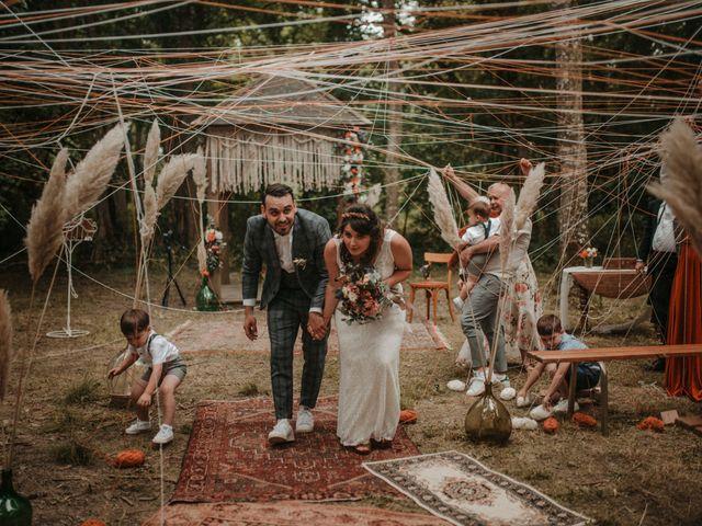 Le mariage de Romain et Amandine à Choué, Loir-et-Cher 60