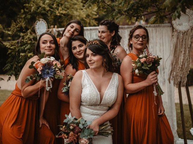 Le mariage de Romain et Amandine à Choué, Loir-et-Cher 75