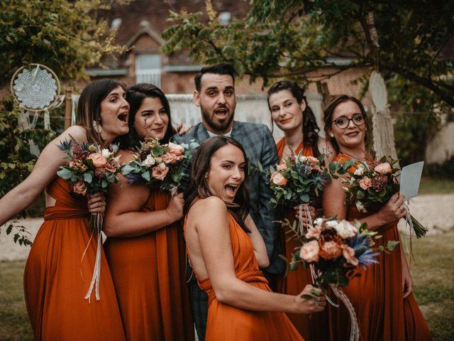 Le mariage de Romain et Amandine à Choué, Loir-et-Cher 81