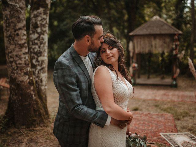 Le mariage de Romain et Amandine à Choué, Loir-et-Cher 86