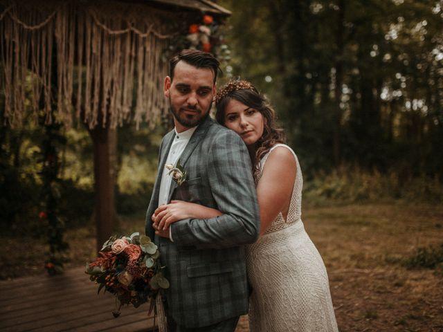 Le mariage de Romain et Amandine à Choué, Loir-et-Cher 87