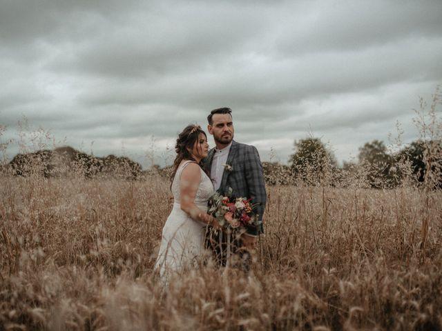 Le mariage de Romain et Amandine à Choué, Loir-et-Cher 89