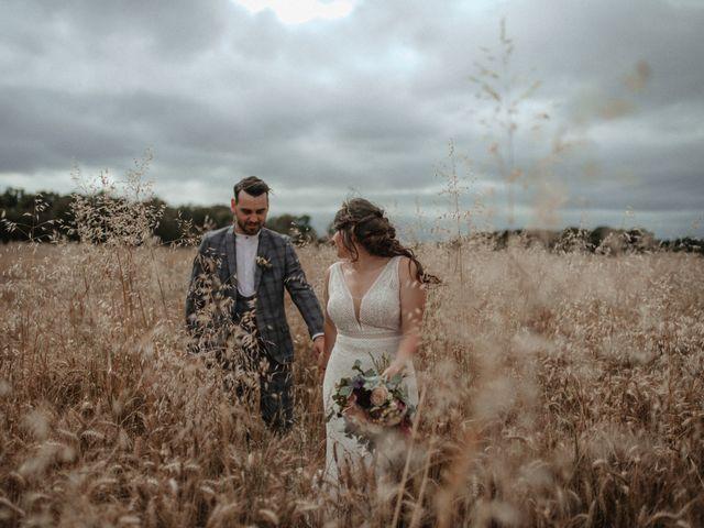 Le mariage de Romain et Amandine à Choué, Loir-et-Cher 92