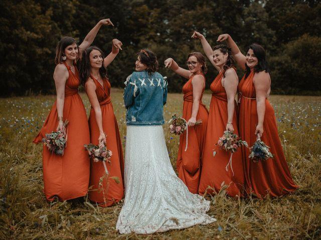 Le mariage de Romain et Amandine à Choué, Loir-et-Cher 94