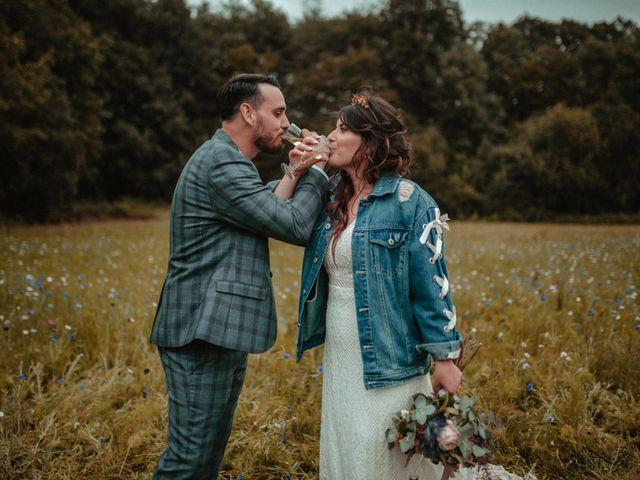 Le mariage de Romain et Amandine à Choué, Loir-et-Cher 161