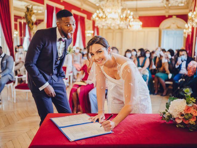 Le mariage de Loïc et Valentine à Fontenay-Trésigny, Seine-et-Marne 18