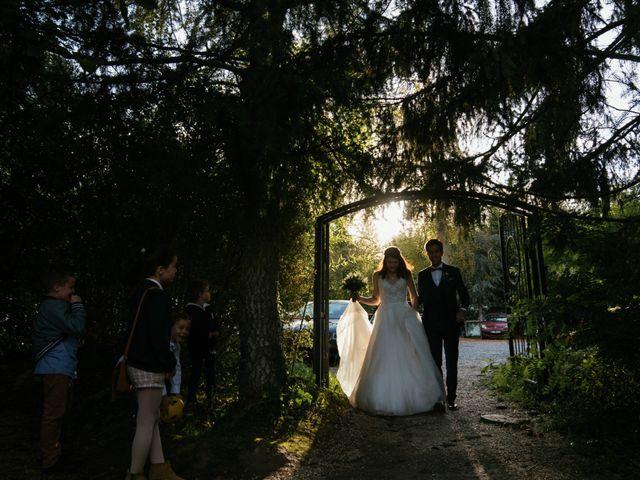 Le mariage de Christopher et Fanny à Le Coudray-Montceaux, Essonne 74