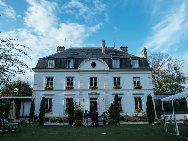 Le mariage de Christopher et Fanny à Le Coudray-Montceaux, Essonne 75