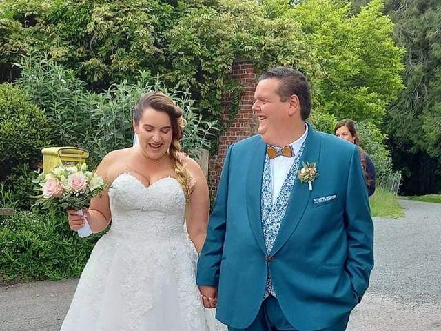 Le mariage de Hébert  et Melissandre  à Bosville, Seine-Maritime 5