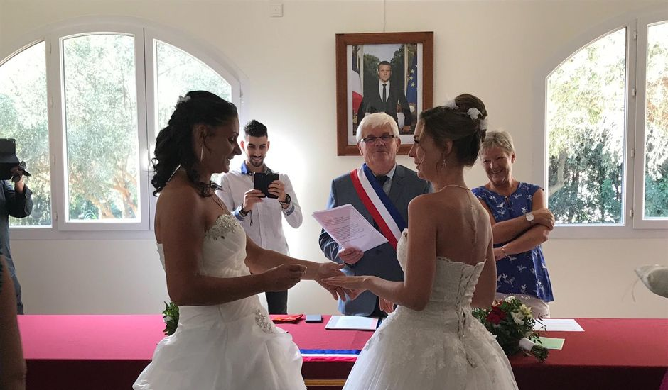 Le mariage de  Harmonie et Morgane   à Ponteilla, Pyrénées-Orientales