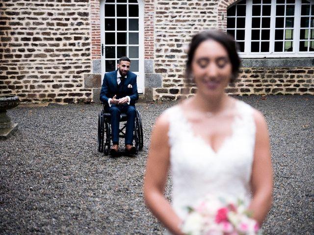 Le mariage de Sofyane et Lucille à Saint-Pierre-des-Landes, Mayenne 11