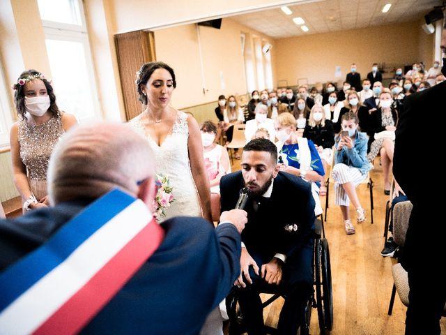 Le mariage de Sofyane et Lucille à Saint-Pierre-des-Landes, Mayenne 15