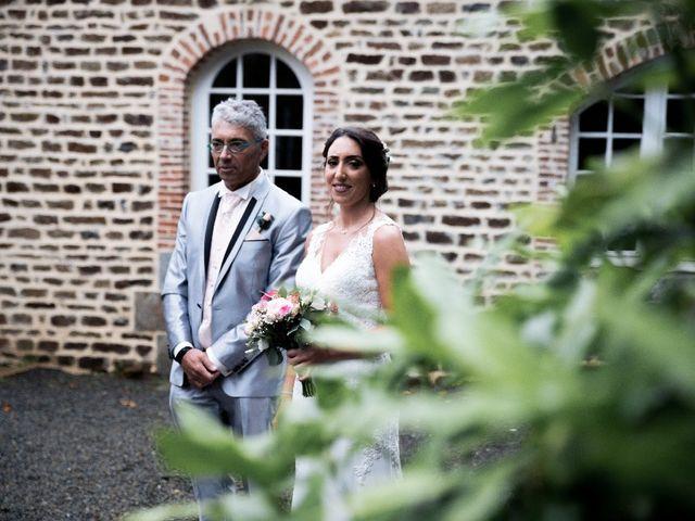 Le mariage de Sofyane et Lucille à Saint-Pierre-des-Landes, Mayenne 18