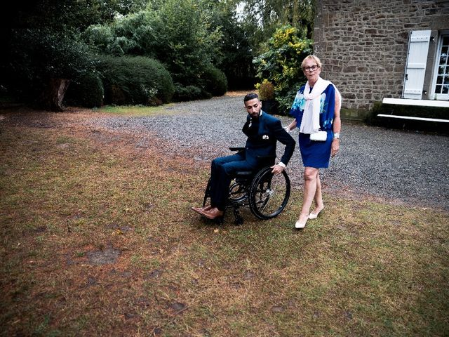 Le mariage de Sofyane et Lucille à Saint-Pierre-des-Landes, Mayenne 19