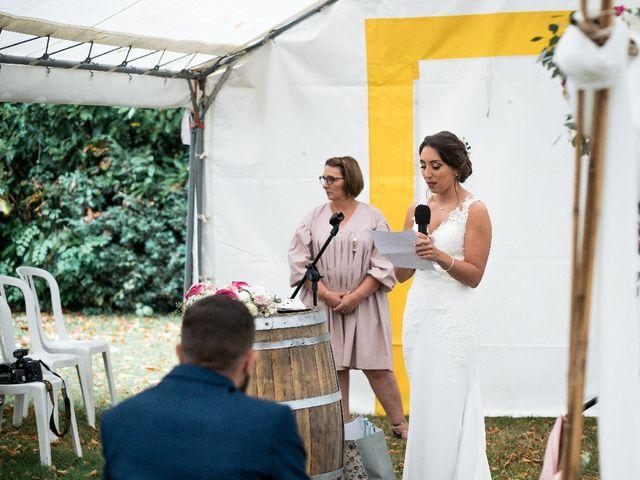 Le mariage de Sofyane et Lucille à Saint-Pierre-des-Landes, Mayenne 20