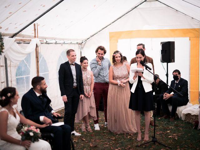 Le mariage de Sofyane et Lucille à Saint-Pierre-des-Landes, Mayenne 25