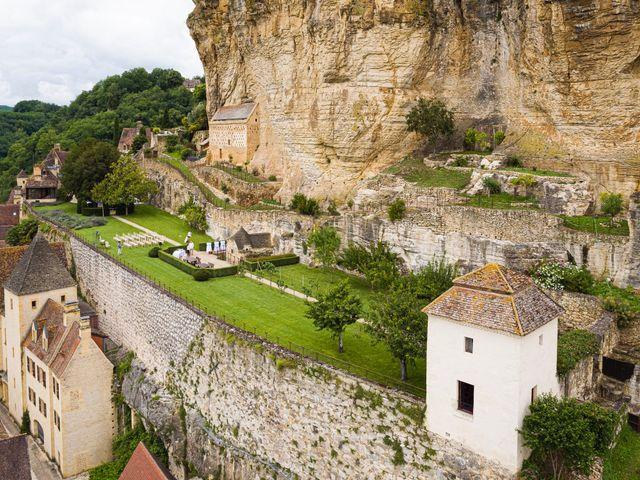 Le mariage de Piers et Steven à Beynac-et-Cazenac, Dordogne 7