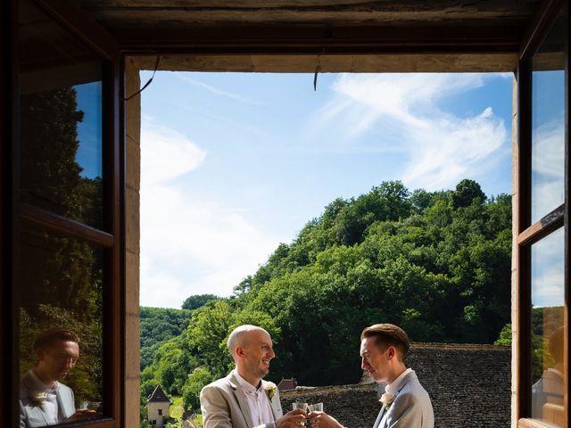Le mariage de Piers et Steven à Beynac-et-Cazenac, Dordogne 19