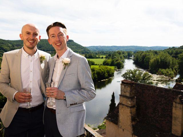 Le mariage de Piers et Steven à Beynac-et-Cazenac, Dordogne 20