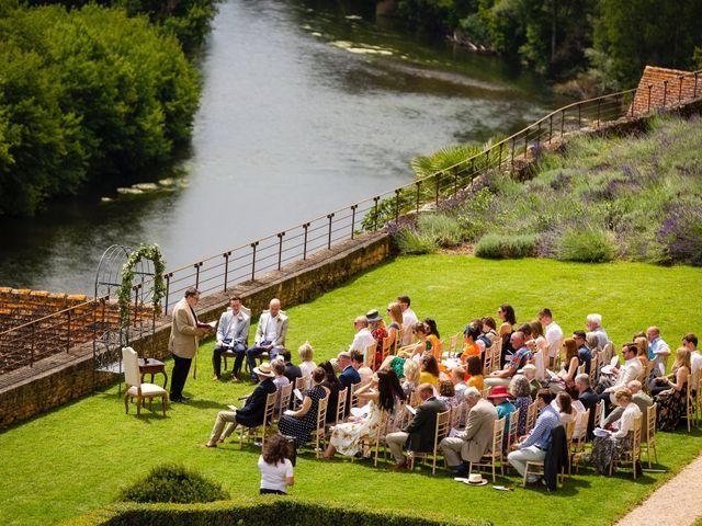 Le mariage de Piers et Steven à Beynac-et-Cazenac, Dordogne 2