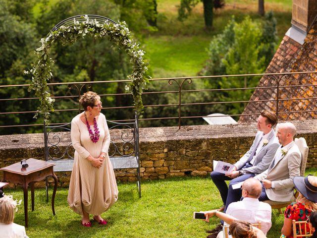 Le mariage de Piers et Steven à Beynac-et-Cazenac, Dordogne 31