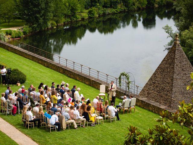Le mariage de Piers et Steven à Beynac-et-Cazenac, Dordogne 33
