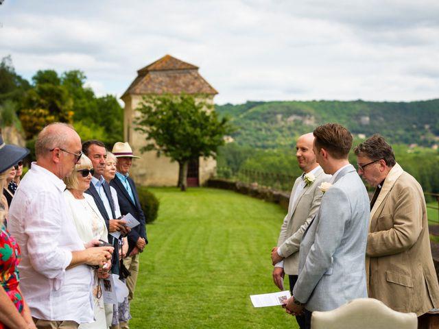 Le mariage de Piers et Steven à Beynac-et-Cazenac, Dordogne 42