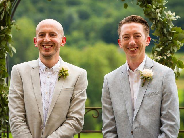 Le mariage de Piers et Steven à Beynac-et-Cazenac, Dordogne 43