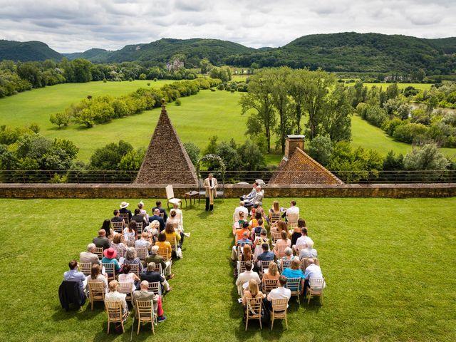 Le mariage de Piers et Steven à Beynac-et-Cazenac, Dordogne 45