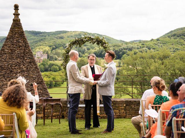 Le mariage de Piers et Steven à Beynac-et-Cazenac, Dordogne 47