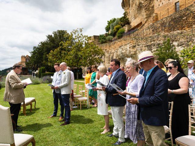 Le mariage de Piers et Steven à Beynac-et-Cazenac, Dordogne 52