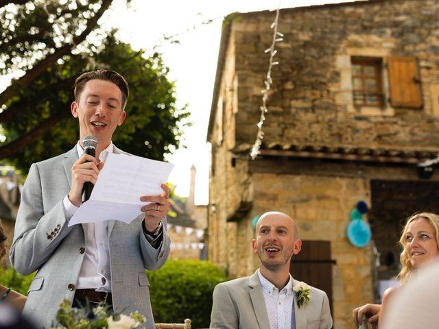 Le mariage de Piers et Steven à Beynac-et-Cazenac, Dordogne 99