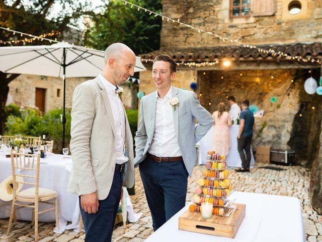 Le mariage de Piers et Steven à Beynac-et-Cazenac, Dordogne 117
