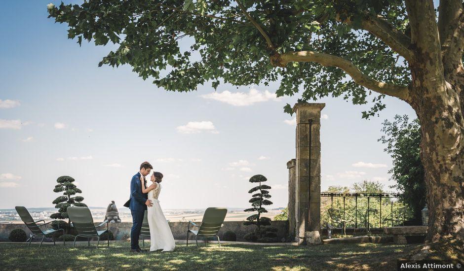 Le mariage de Ludovic et Anne à Ville-Dommange, Marne