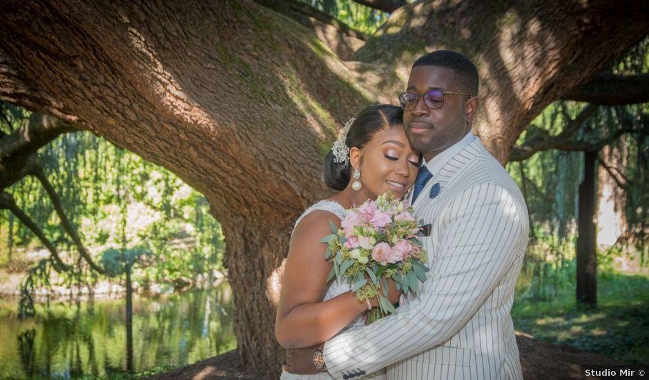 Le mariage de Geoffrey et Grace à L'Hay-les-Roses, Val-de-Marne