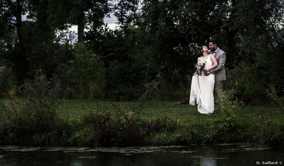 Le mariage de Romain et Célia à Châteauvillain, Haute-Marne
