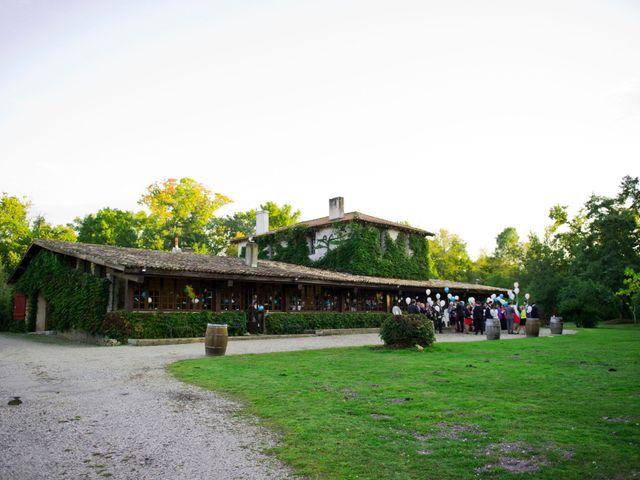 Le mariage de David et Silke à Cabanac-et-Villagrains, Gironde 1