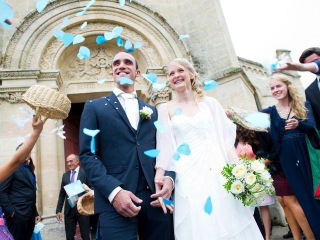Le mariage de David et Silke à Cabanac-et-Villagrains, Gironde 2