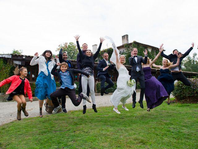 Le mariage de David et Silke à Cabanac-et-Villagrains, Gironde 12