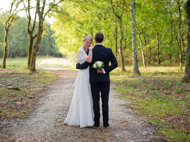 Le mariage de David et Silke à Cabanac-et-Villagrains, Gironde 19