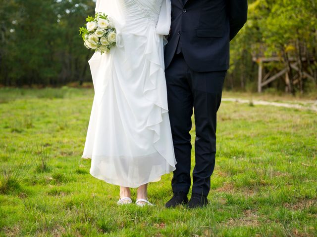 Le mariage de David et Silke à Cabanac-et-Villagrains, Gironde 26