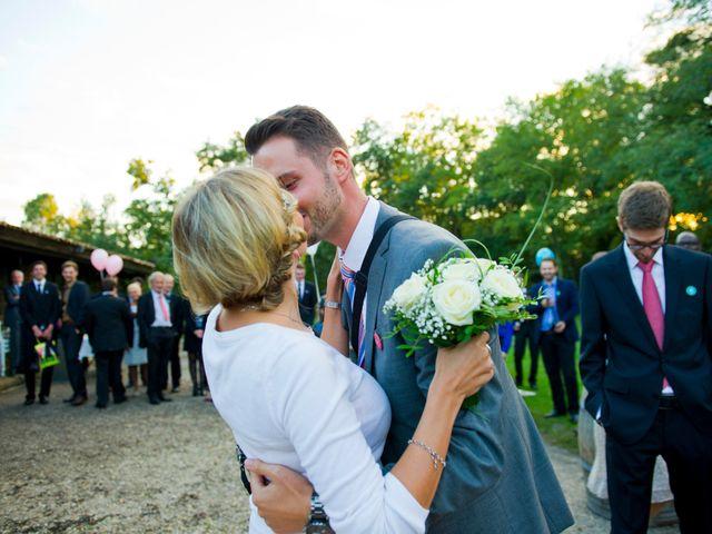 Le mariage de David et Silke à Cabanac-et-Villagrains, Gironde 41
