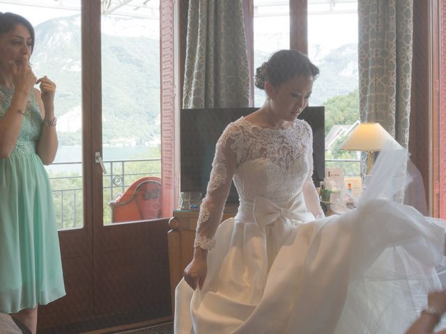 Le mariage de Guillaume et Ruoxi à Annecy, Haute-Savoie 17