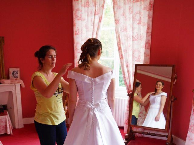 Le mariage de Odalric et Bénédicte à Reuilly, Indre 3