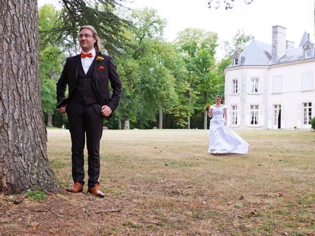 Le mariage de Odalric et Bénédicte à Reuilly, Indre 2