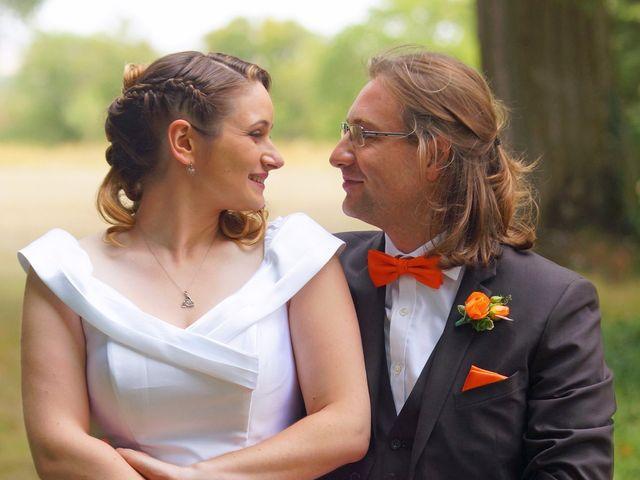 Le mariage de Odalric et Bénédicte à Reuilly, Indre 7