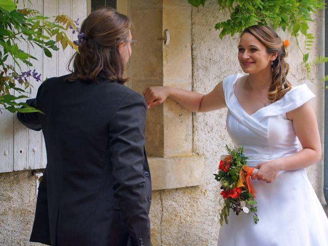 Le mariage de Odalric et Bénédicte à Reuilly, Indre 9
