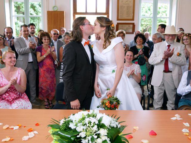Le mariage de Odalric et Bénédicte à Reuilly, Indre 15