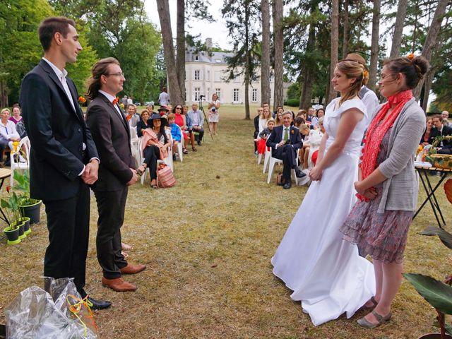 Le mariage de Odalric et Bénédicte à Reuilly, Indre 26
